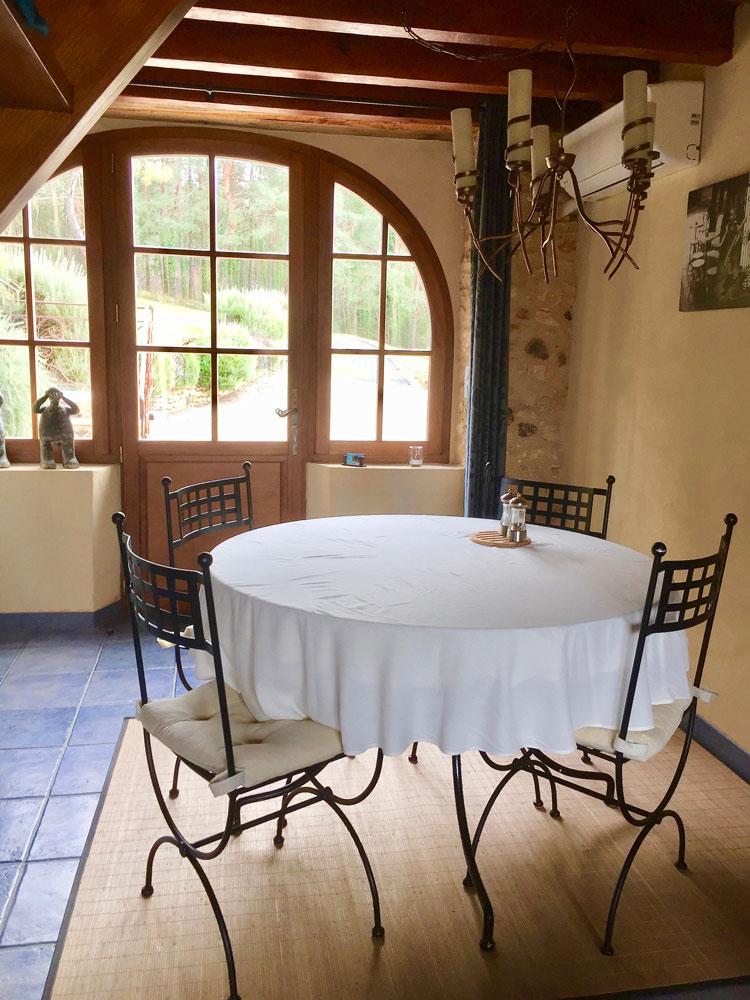 La Plumardie Basse - Dordogne - Eetruimte