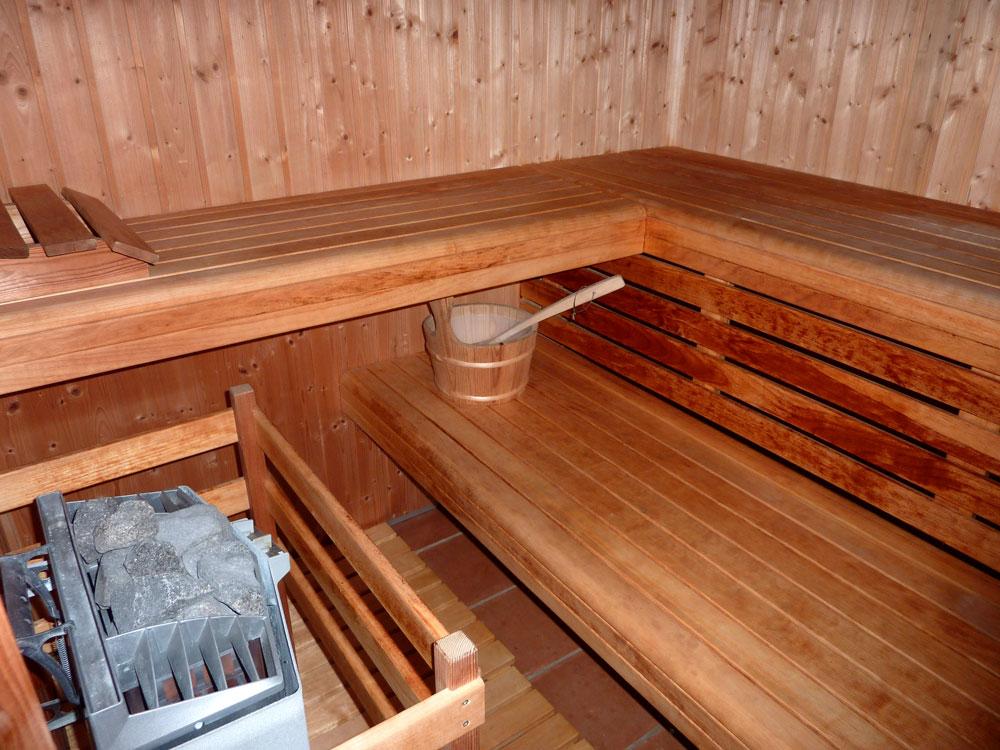 Sauna et hammam sont également a votre disponibilité!